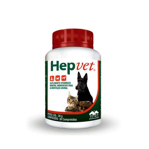 Suplemento Vitamínico Vetnil Hepvet 30g