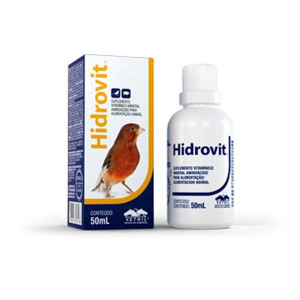 Suplemento Vitamínico Vetnil Hidrovit 50ml