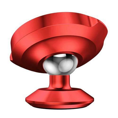 Tudo sobre 'Suporte Celular Veicular Magnético 360º Baseus Vermelho'
