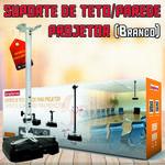 Suporte de Teto / Parede para Projetor SBRP756B Brasforma