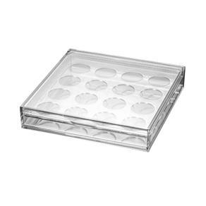 Suporte P16 Capsulas de Café Dolce Gusto de Acrílico Lyor Transparente