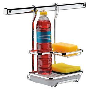 Suporte para Detergente Brinox Platina Plus 2020/012 em Aço Cromado