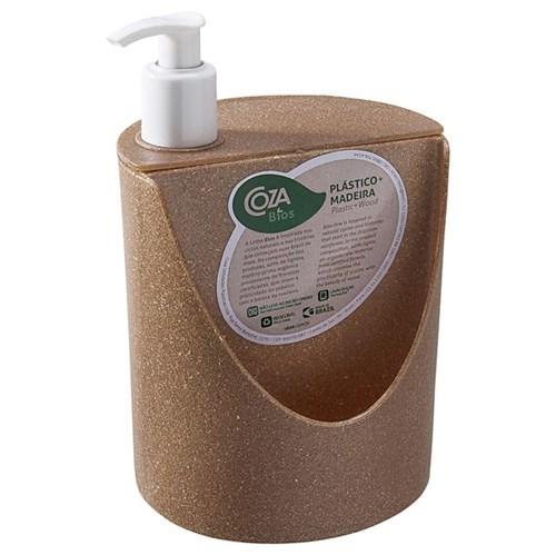 Suporte para Detergente e Esponja Plástico Marrom