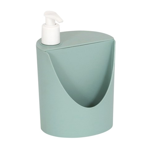 Suporte para Detergente e Esponja Plástico Menta