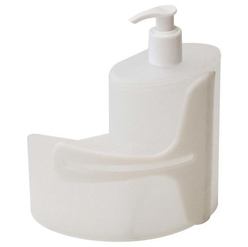 Suporte para Detergente e Esponja Plástico Natural