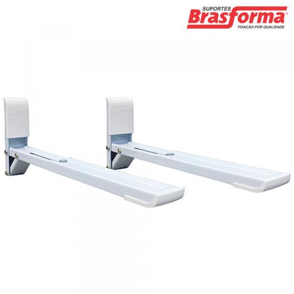 Suporte para Micro-ondas Branco SBR3.8 Brasforma