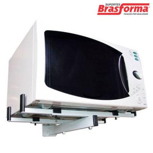 Suporte para Micro-Ondas ou Forno Elétrico, Branco, SBR3.6 - Brasforma