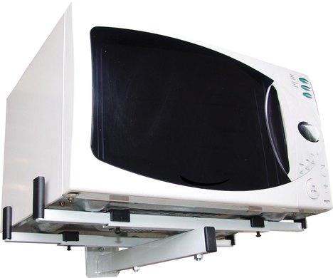 Suporte para Microondas / Forno Elétrico Sbr3.6 Branco - Carga Máxima 40 Kg