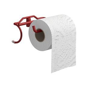 Suporte para Papel Higiênico Banho Mais - Vermelho
