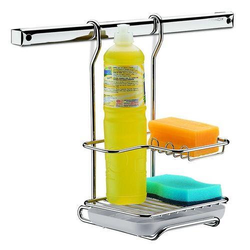 Suporte para Sabão Detergente e Esponja Brinox 2200/012