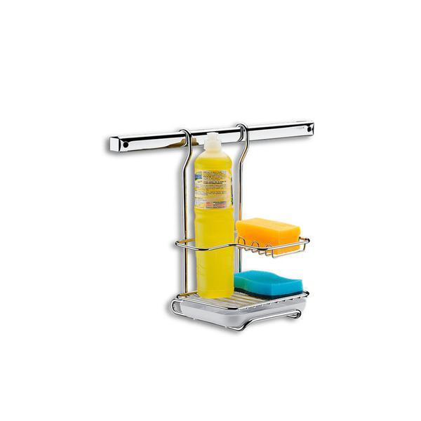 Suporte para Sabão Detergente e Esponja Brinox
