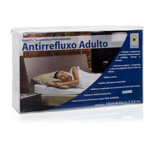 Suporte Terapêutico Antirrefluxo Adulto 14cm X 70cm X 82cm