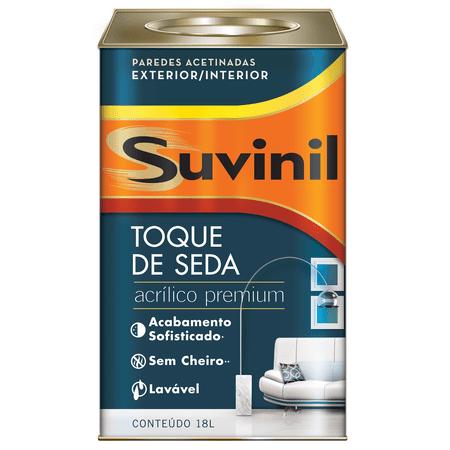Suvinil Acrílico Toque de Seda Premium 18 Litros Branco