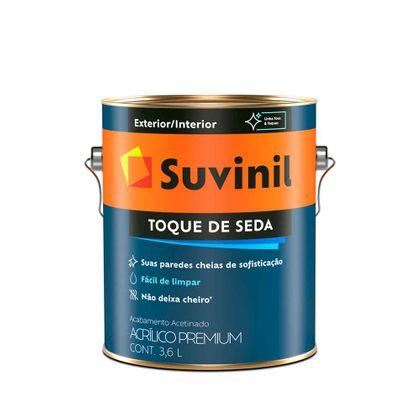 Suvinil Toque de Seda 3,6 Litros Acetinado Branco