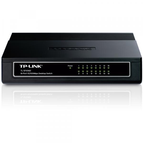Switch 16 Portas 10/100 Tl-SF1016D Tp-Link
