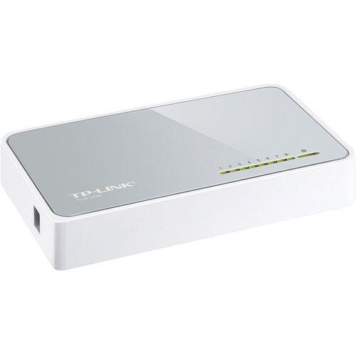 Switch de Mesa com 8 Portas 10/100mbps Tl-sf1008d Tp-link