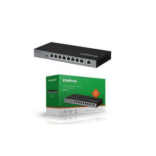 Tudo sobre 'Switch Desktop 09 Portas Fast Ethernet Sf 900 Poe'
