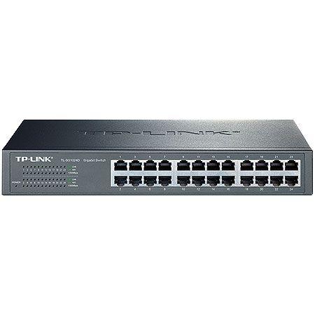 Tudo sobre 'Switch Gigabit de Mesa ou Montável em Rack de 24 Portas Tp-Link Tl-SG1024D'