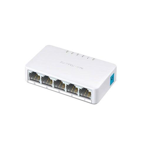 Switch Ms105 5 Portas Rj45 10/100Mbps Auto-Mdi/Mdix - Mercusys