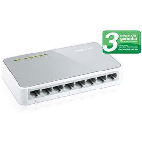Switch TP-LINK TL-SF1008D com 8 Portas RJ-45