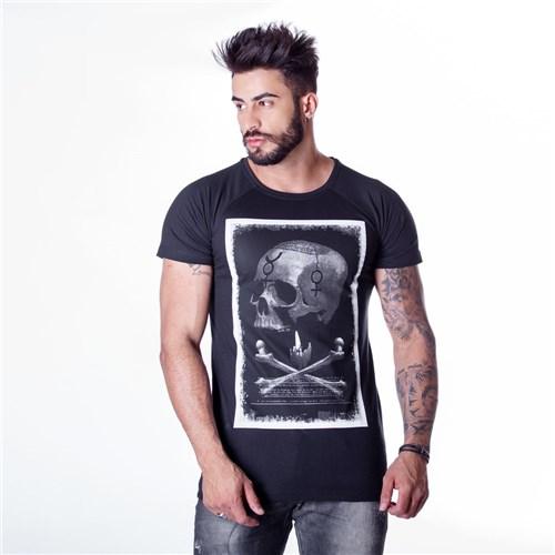 T-Shirt Alchemy Skull Preta (P)
