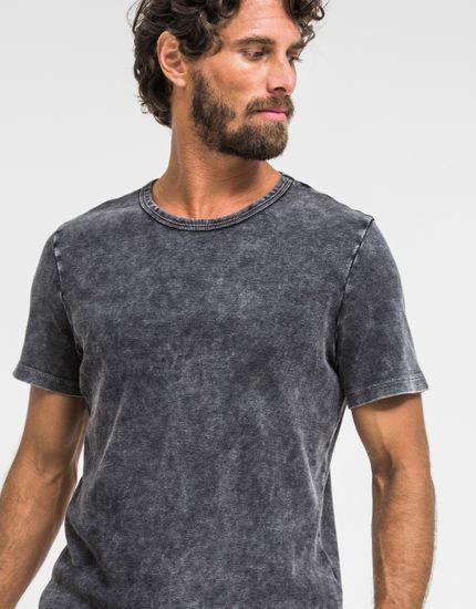 T-Shirt Black Sout G - PRETO