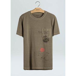 T-Shirt Pocket Sketches-Caqui - P