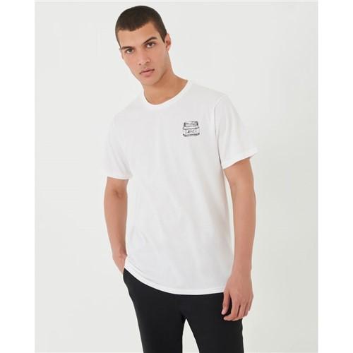T-Shirt Silk Offwhite P
