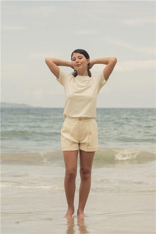 T-shirt Slim Fit / G / Preta