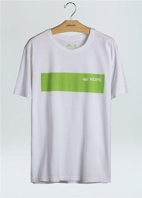 T-Shirt Stone Hope-Branco - G