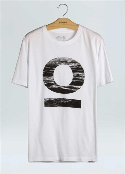T-Shirt Stone Vintage O-Branco - G