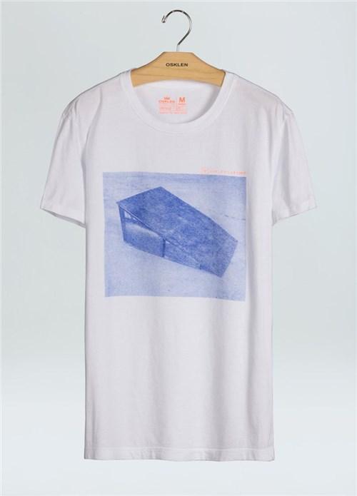 T-Shirt Stone Vintage Rampa-Branco - M