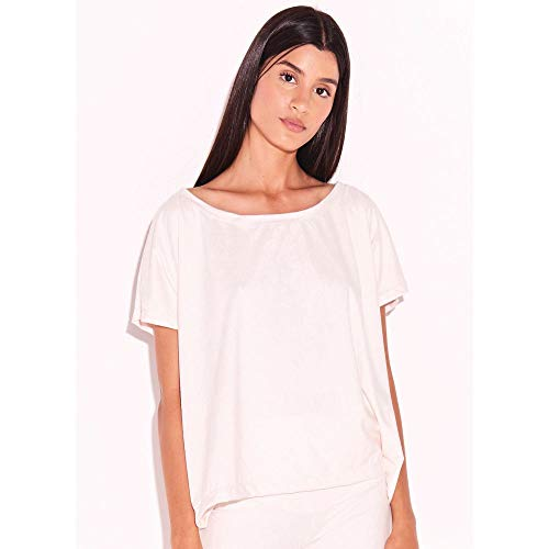 T-Shirt Suede Off White-M