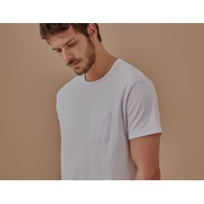 T-Shirt Suedi Pima Branco - M