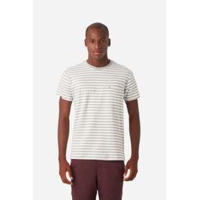 T-Shirt Suedine Listrada Cinza - GG