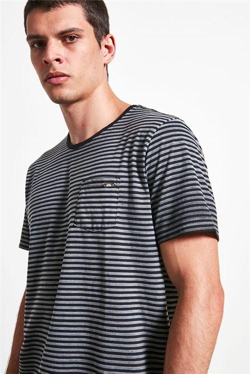 T-shirt Urca Stripes Preto P