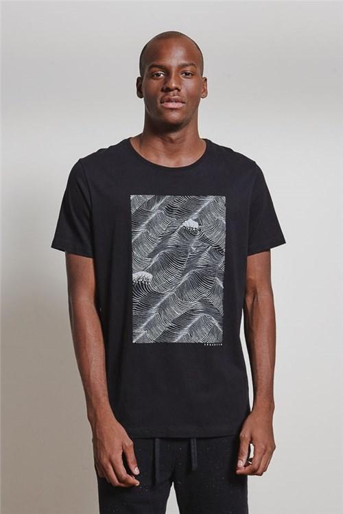 T-shirt Wave Storm T-shirt Wave Storm Preto G