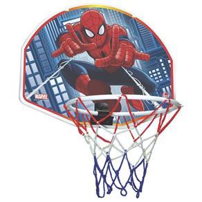 Tabela de Basquete + Bola de Vinil Spiderman - Líder Brinquedos 2048 - Único