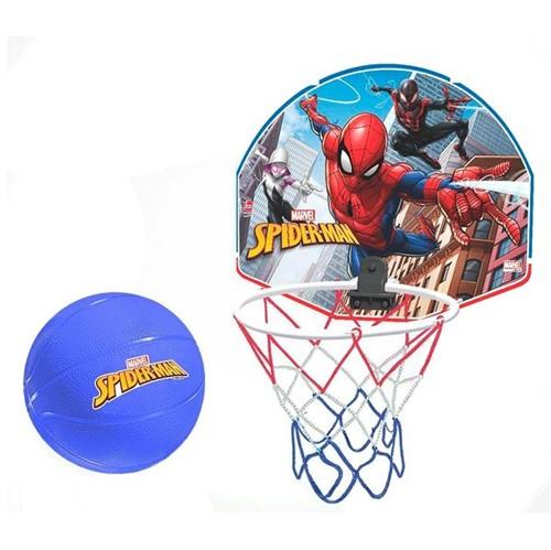 Tabela de Basquete Infantil Homem Aranha com Bola Azul Líder