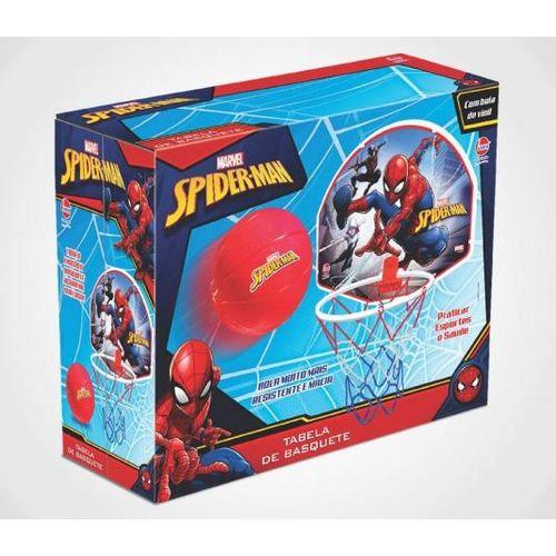 Tabela de Basquete Spiderman - Lider Brinquedos