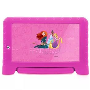 Tablet Disney Princesas Plus Wifi 8Gb Dual Câmera Android 7 Rosa Multilaser - NB281