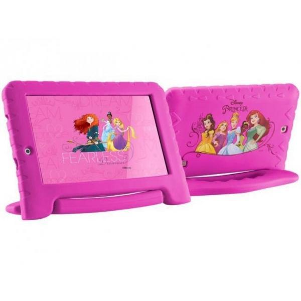 Tablet Disney Princesas Plus Wifi 8GB Dual Câmera Android 7 Rosa Nb281 - 135 - Multilaser