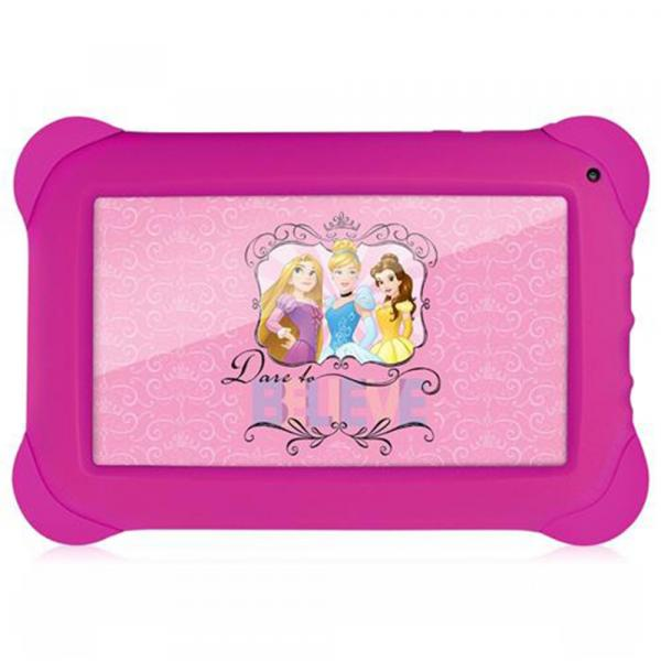 Tablet Multilaser Disney Princesas 8GB Wifi 7 Rosa - NB239