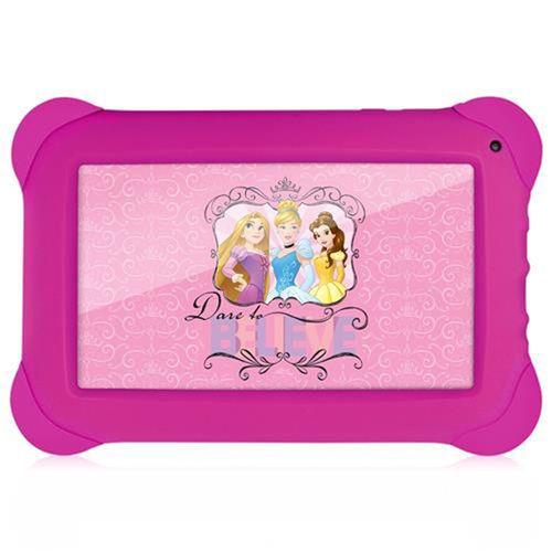 Tablet Multilaser Disney Princesas 8GB Wifi 7'' Rosa - NB239
