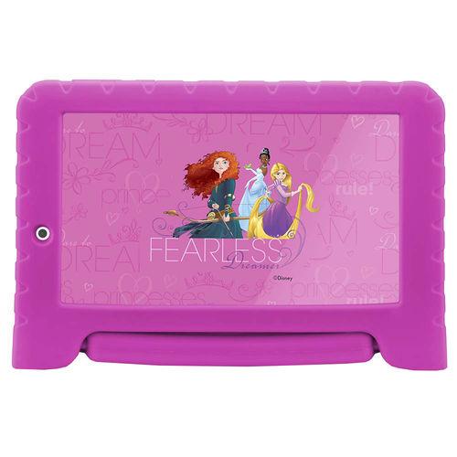 "Tablet Multilaser Disney Princess Plus 7"" Bluetoot 8gb Nb281"