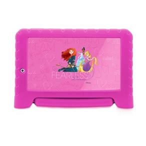 Tablet Multilaser Disney Princess Plus Nb281 Rosa 7