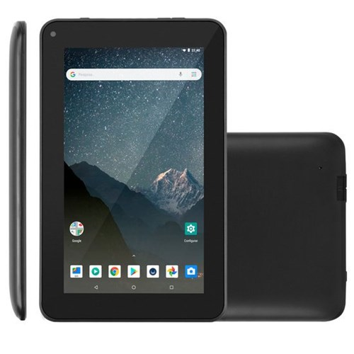 Tablet Multilaser M72, 7'', 8GB, Wi-Fi, Bluetooth 2.0 - NB296