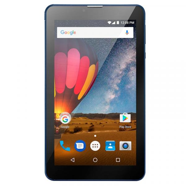 Tablet Multilaser M7 3G Plus 1GB 8GB Quad Core Dual Câmera Tela 7 Dual Chip Azul - NB270