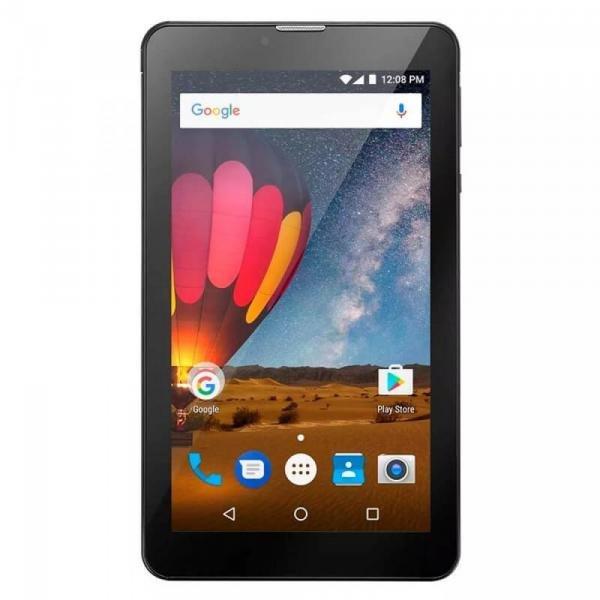 Tablet Multilaser M7 3G Plus Quad Core 1GB RAM Câmera Tela 7 Memória 8