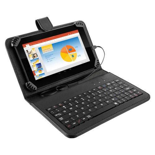 Tudo sobre 'Tablet Multilaser M7s Plus com Teclado Nb283, Android 7.0, Tela 7.0'', Memória 8gb, Wi-Fi - Preto'
